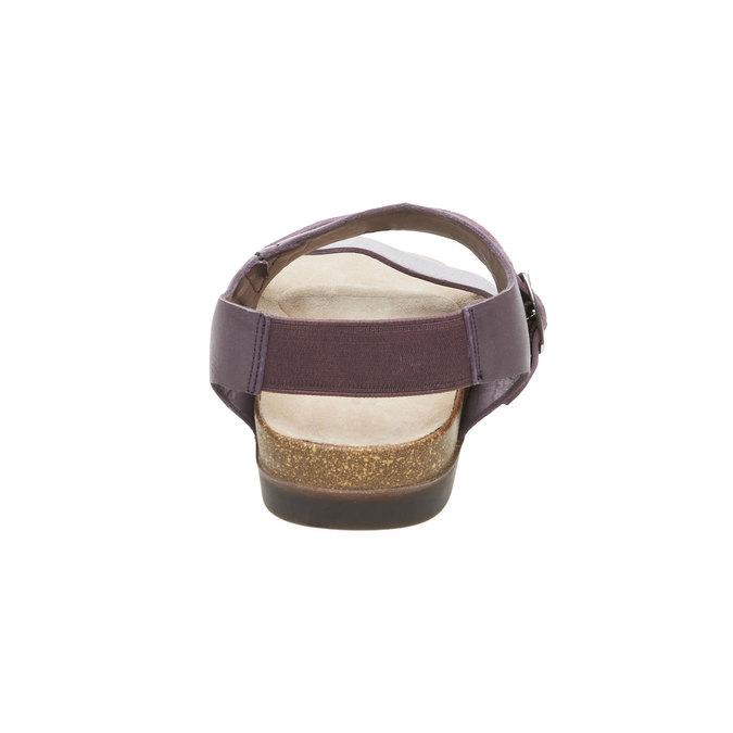 Dámské nazouváky s elastickou patou rockport, fialová, 566-9104 - 17