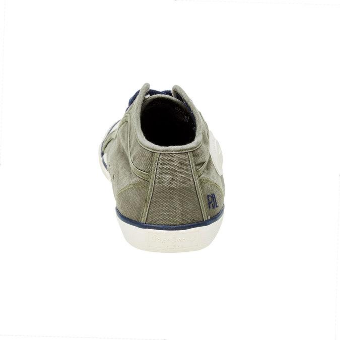 Pánské kotníčkové tenisky pepe-jeans, zelená, 849-7013 - 17