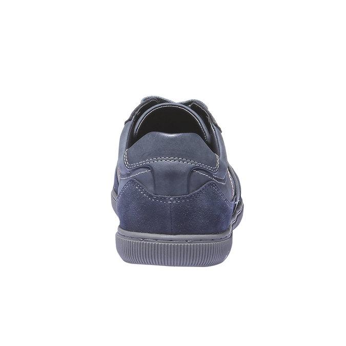 Pánské tenisky bata, modrá, 841-9426 - 17