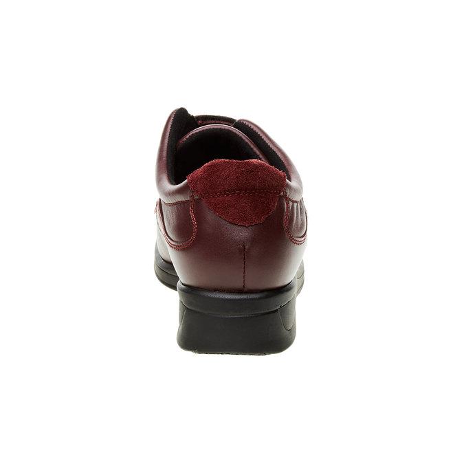 Dámská zdravotní obuv medi, červená, 534-5104 - 17