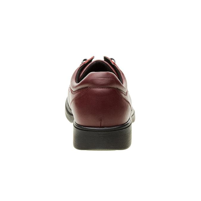 Pánská zdravotní obuv medi, červená, 824-5202 - 17