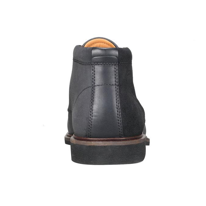 Kožené Chukka Boots ecco, černá, 894-6037 - 17