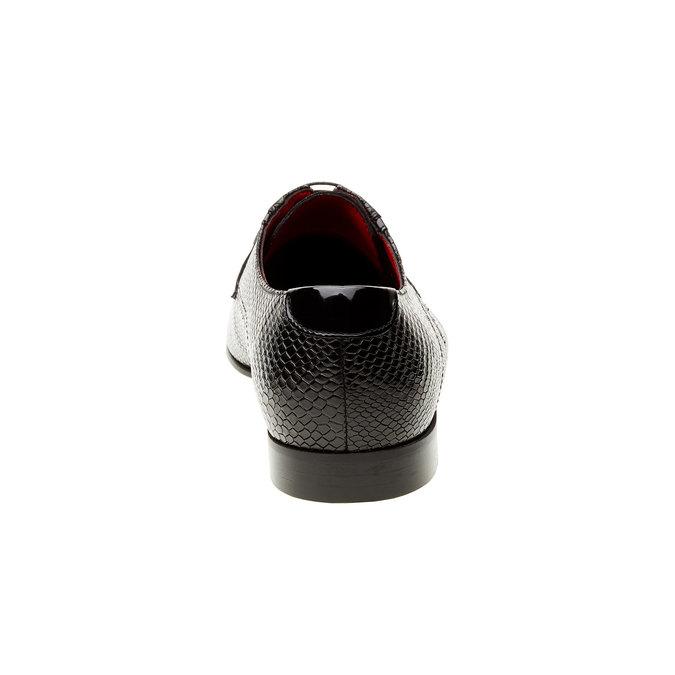 Kožené pánské polobotky conhpol, černá, 824-6153 - 17