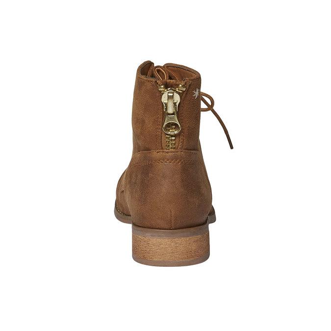 Kotníčkové šněrovací boty bata, hnědá, 599-3493 - 17