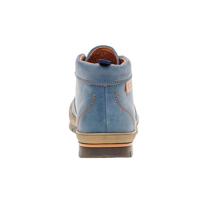 Kožená kotníčková obuv weinbrenner, modrá, 896-9209 - 17
