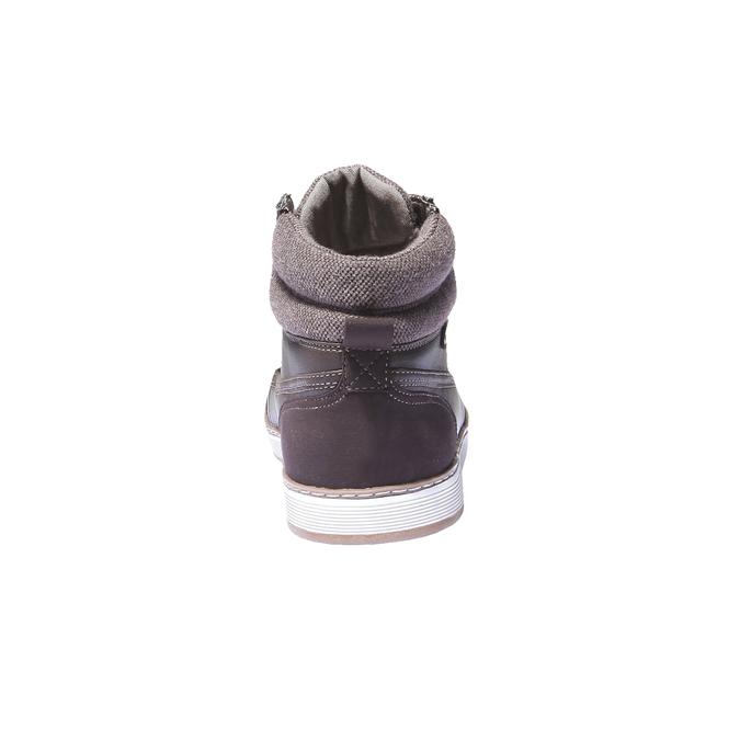 Kotníčkové tenisky bata, hnědá, 841-4401 - 17