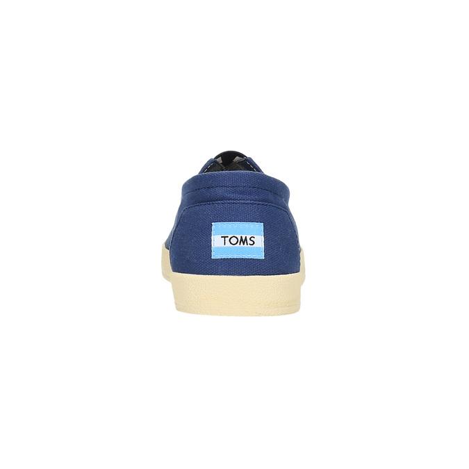 Pánské modré Slip on toms, modrá, 819-9006 - 17