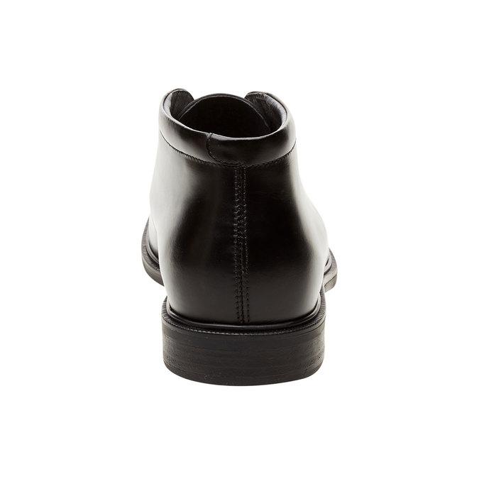 Kožené kotníčkové boty climatec, černá, 894-6208 - 17