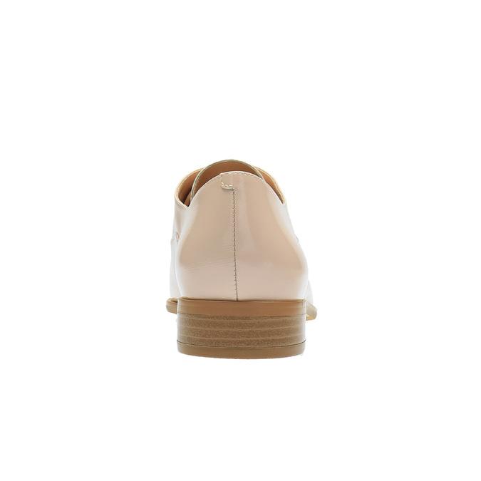 Dámské Oxford polobotky bata, růžová, 528-5631 - 17