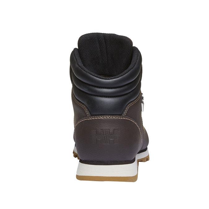 Kožené zimní boty ke kotníkům helly-hansen, hnědá, 894-4020 - 17
