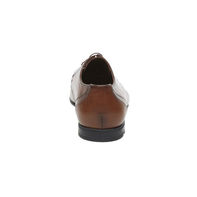Pánská kožená obuv typu Derby lloyd, hnědá, 824-3108 - 17