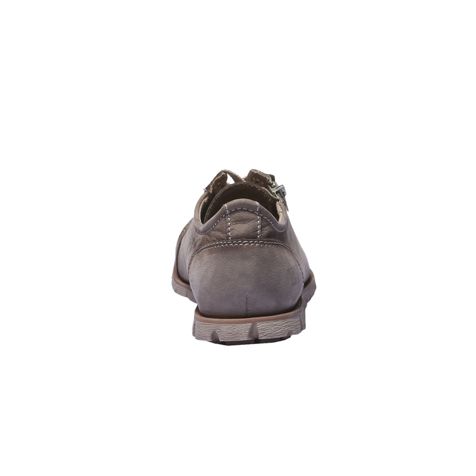 Designová kožená obuv weinbrenner, hnědá, 544-4150 - 17