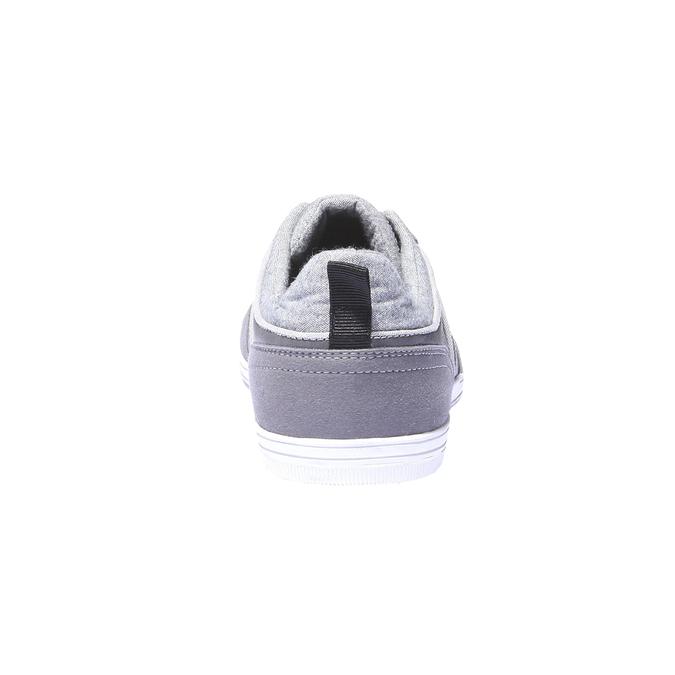 Tenisky s kontrastními detaily bata, šedá, 841-2254 - 17