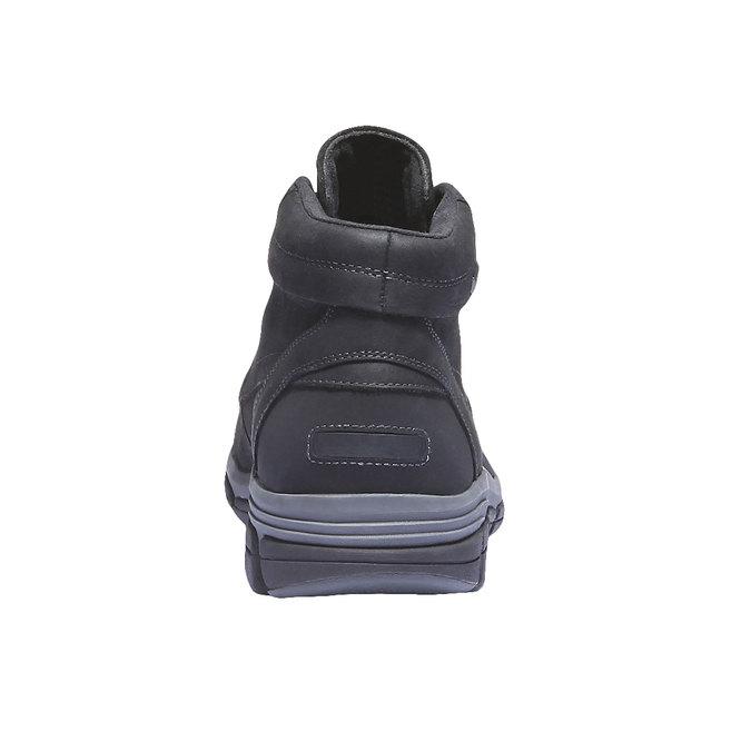 Kožená kotníčková obuv rockport, šedá, 896-6417 - 17