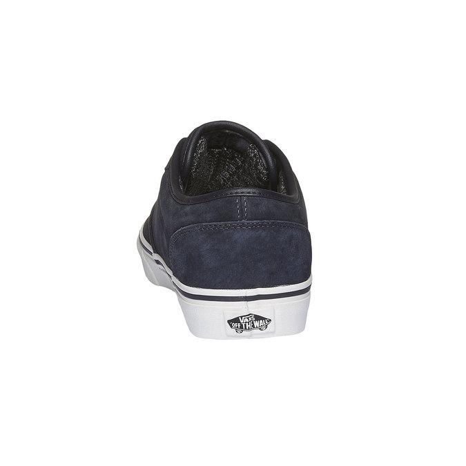Pánské kožené tenisky vans, černá, 803-9300 - 17