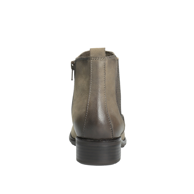 Dámská kotníčková obuv bata, hnědá, 596-2603 - 17