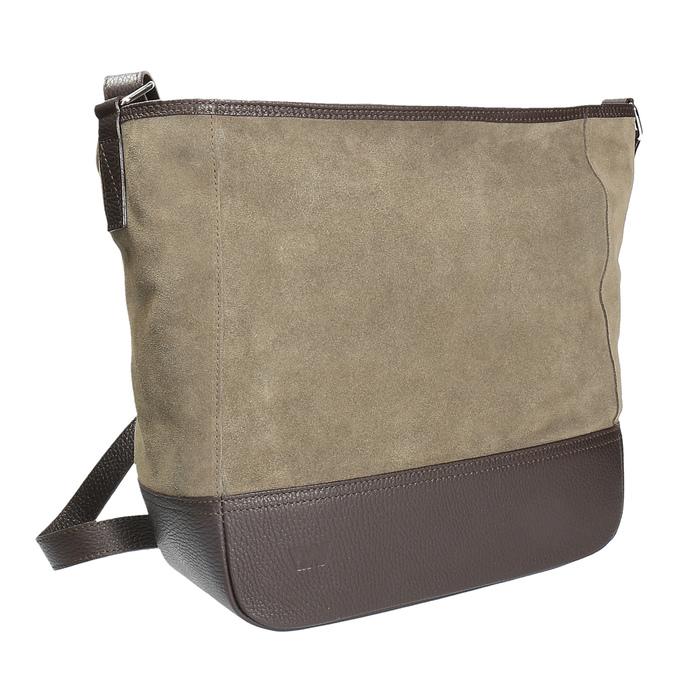Kožená kabelka weinbrenner, hnědá, 963-4190 - 13