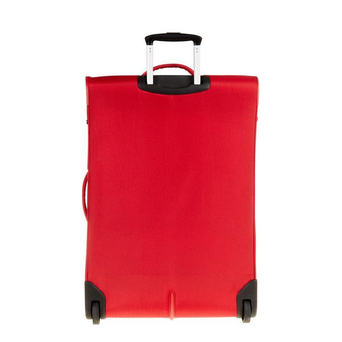 Kufr na kolečkách carlton, červená, 969-5147 - 26