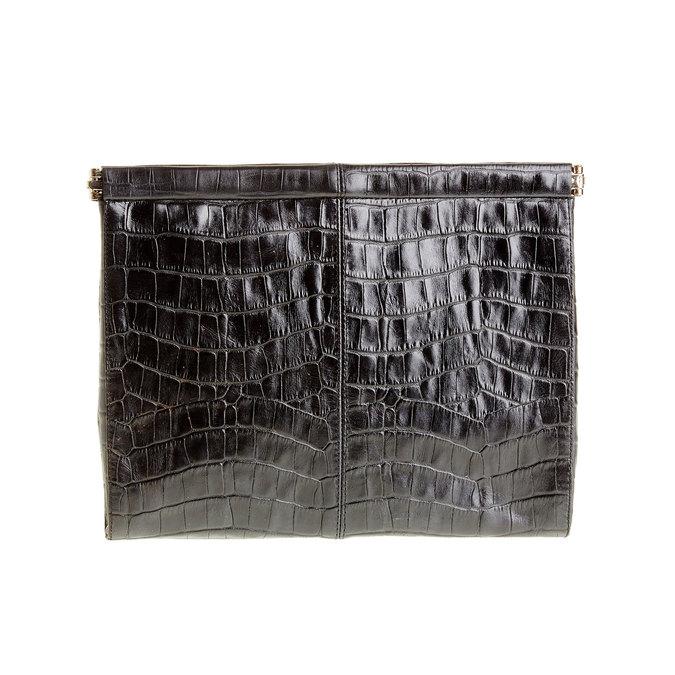 Kožené psaníčko vagabond, černá, 966-6095 - 26