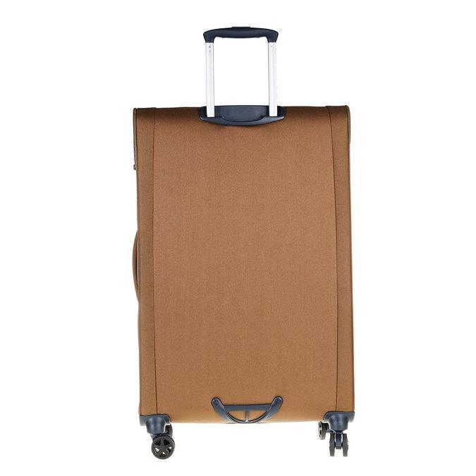 Textilní cestovní kufr na kolečkách samsonite, hnědá, 969-3343 - 26
