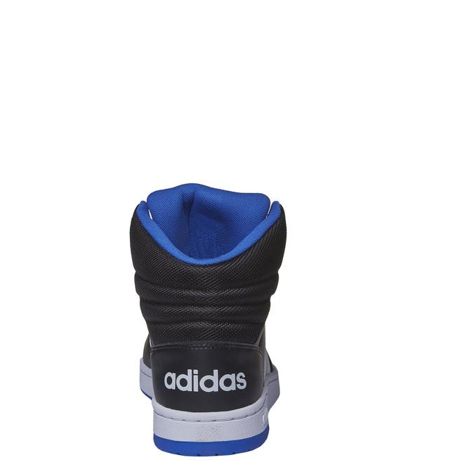 Pánské kotníčkové tenisky adidas, černá, 801-6140 - 17