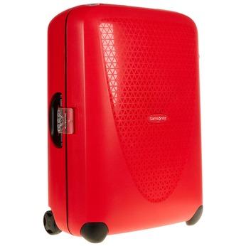 Kvalitní skořepinový kufr samsonite, červená, 960-5323 - 13