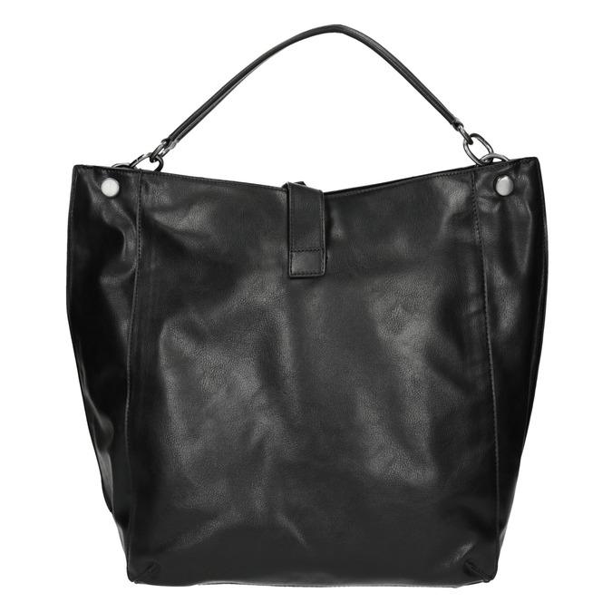 Černá kabelka v Hobo stylu bata, černá, 961-6808 - 26