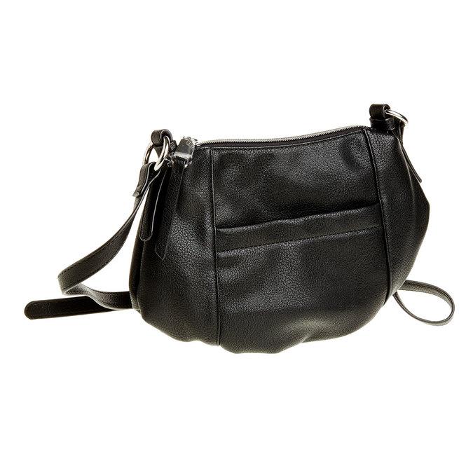Crossbody kabelka bata, černá, 961-6757 - 13