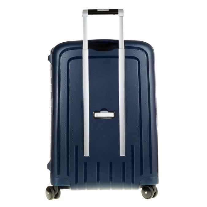 Kvalitní skořepinový kufr samsonite, modrá, 960-9322 - 26