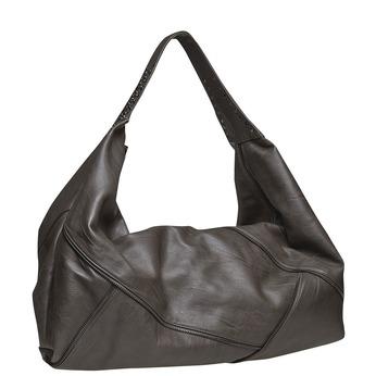 Dámská kabelka s kovovými detaily bata, šedá, 961-2231 - 13