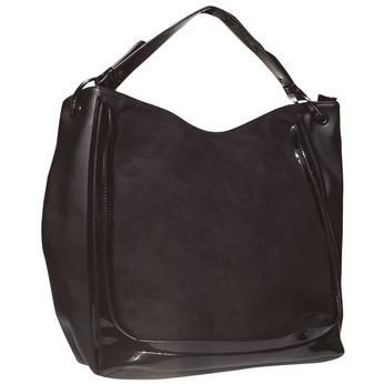 Womens Tote Bag bata, černá, 961-6611 - 13