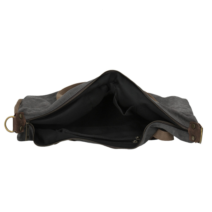 Velká taška s popruhem weinbrenner, šedá, 969-2620 - 15