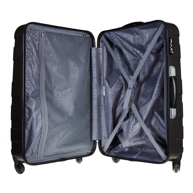 Skořepinový kufr na kolečkách american-tourister, černá, 960-6104 - 15