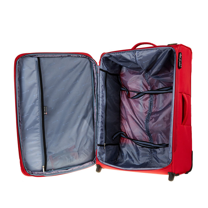 Kufr na kolečkách carlton, červená, 969-5147 - 15