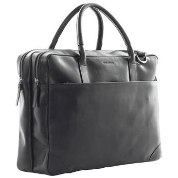 Černá kožená taška royal-republiq, černá, 964-6053 - 13