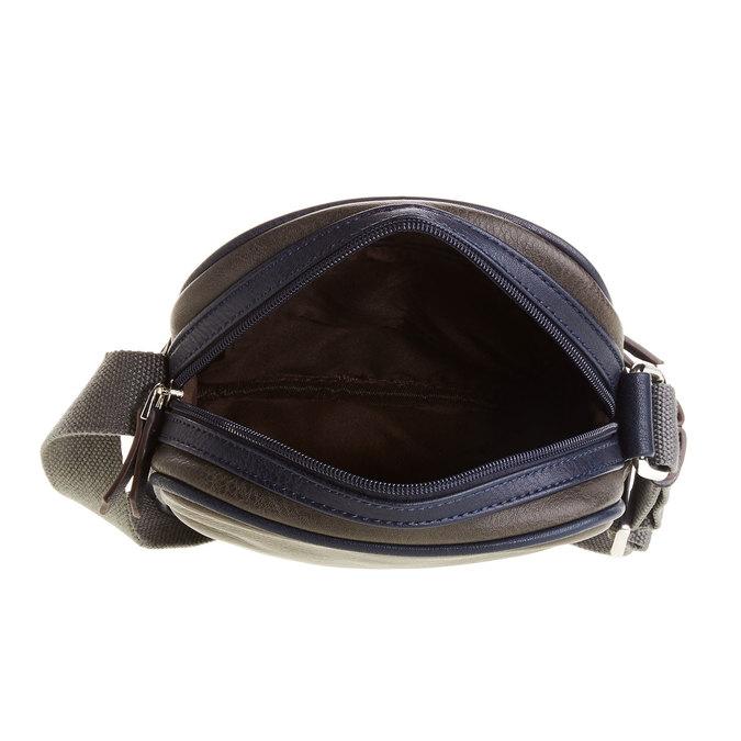 Pánská taška bata, modrá, 961-9772 - 15