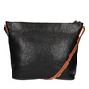 Kožená Crossbody kabelka weinbrenner, černá, 964-6201 - 19