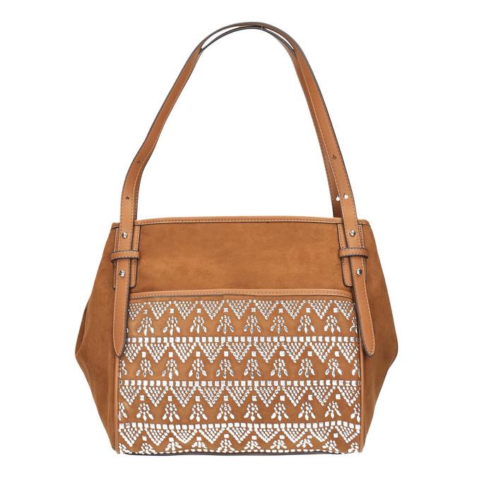 Dámská kabelka bata, hnědá, 969-4453 - 19