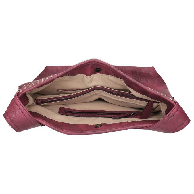 Vínová kabelka s dlouhým uchem bata, červená, 961-5600 - 15