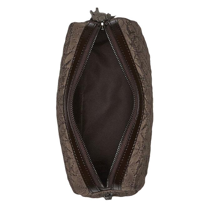Textilní mini kabelka bata, žlutá, 969-8244 - 15