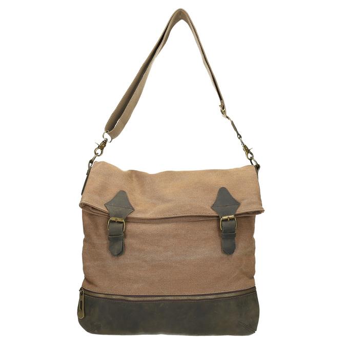 Prostorná Crossbody taška weinbrenner, hnědá, 969-8616 - 19