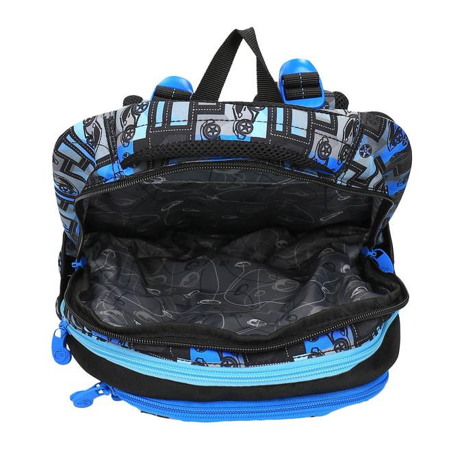 Chlapecký školní batoh bagmaster, modrá, 969-9610 - 15
