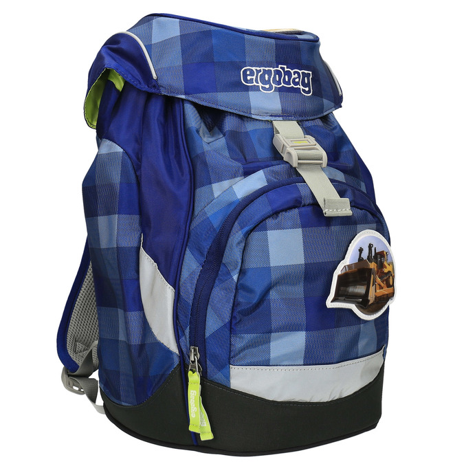 Dětský školní batoh ergobag, modrá, 969-9099 - 13
