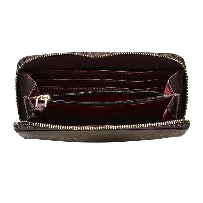 Dámská peněženka bata, hnědá, 941-4102 - 17