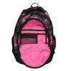 Dívčí školní batoh s puntíky bagmaster, růžová, 969-5601 - 15
