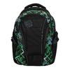 Školní batoh s potiskem bagmaster, zelená, 969-7613 - 19