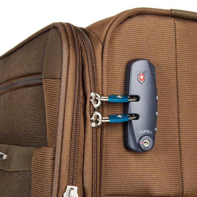 Cestovní kufr samsonite, hnědá, 969-3341 - 17