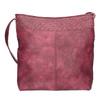 Vínová kabelka s dlouhým uchem bata, červená, 961-5600 - 19