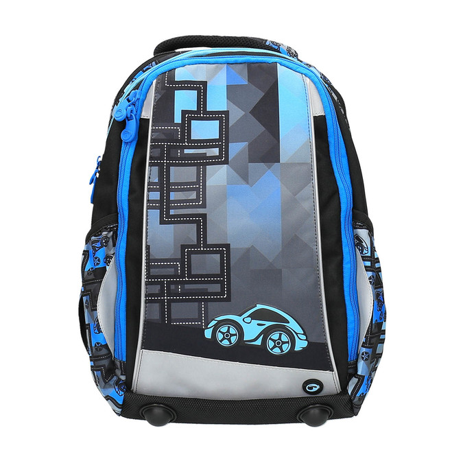 Chlapecký školní batoh bagmaster, modrá, 969-9610 - 19