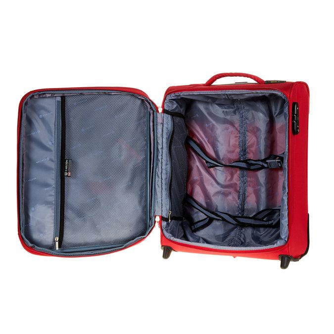 Kufr na kolečkách carlton, červená, 969-5145 - 15